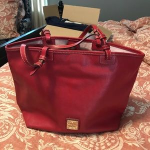 Red Dooney and Bourke Tote handbag